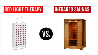 Red Light Therapy vs. Infrared Saunas