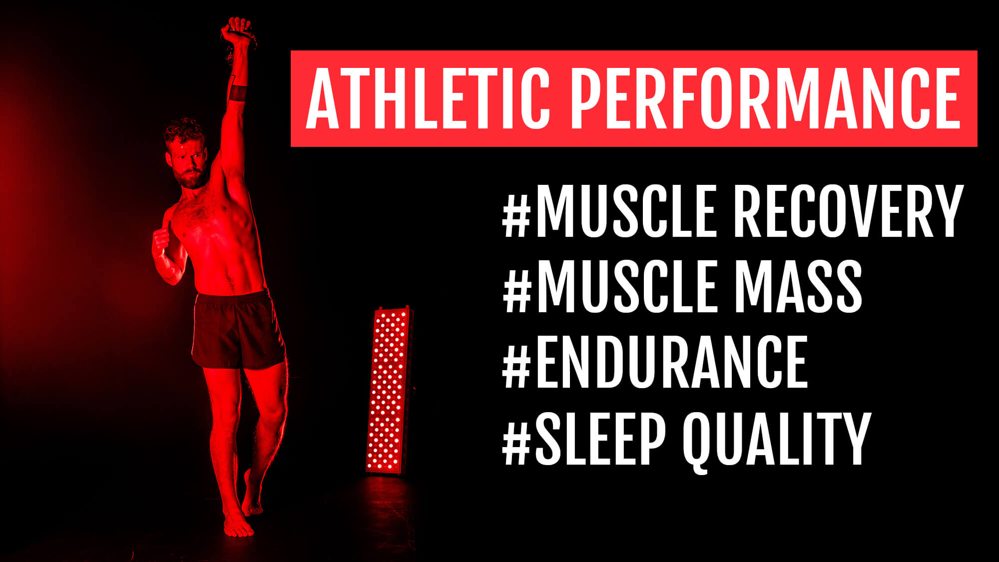 Athletic performance and red light therapy