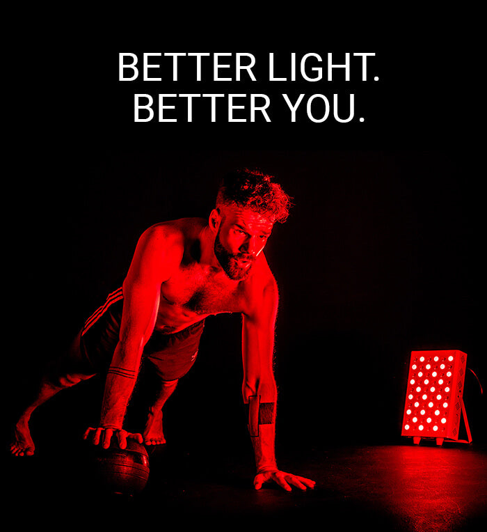 Red light therapy image