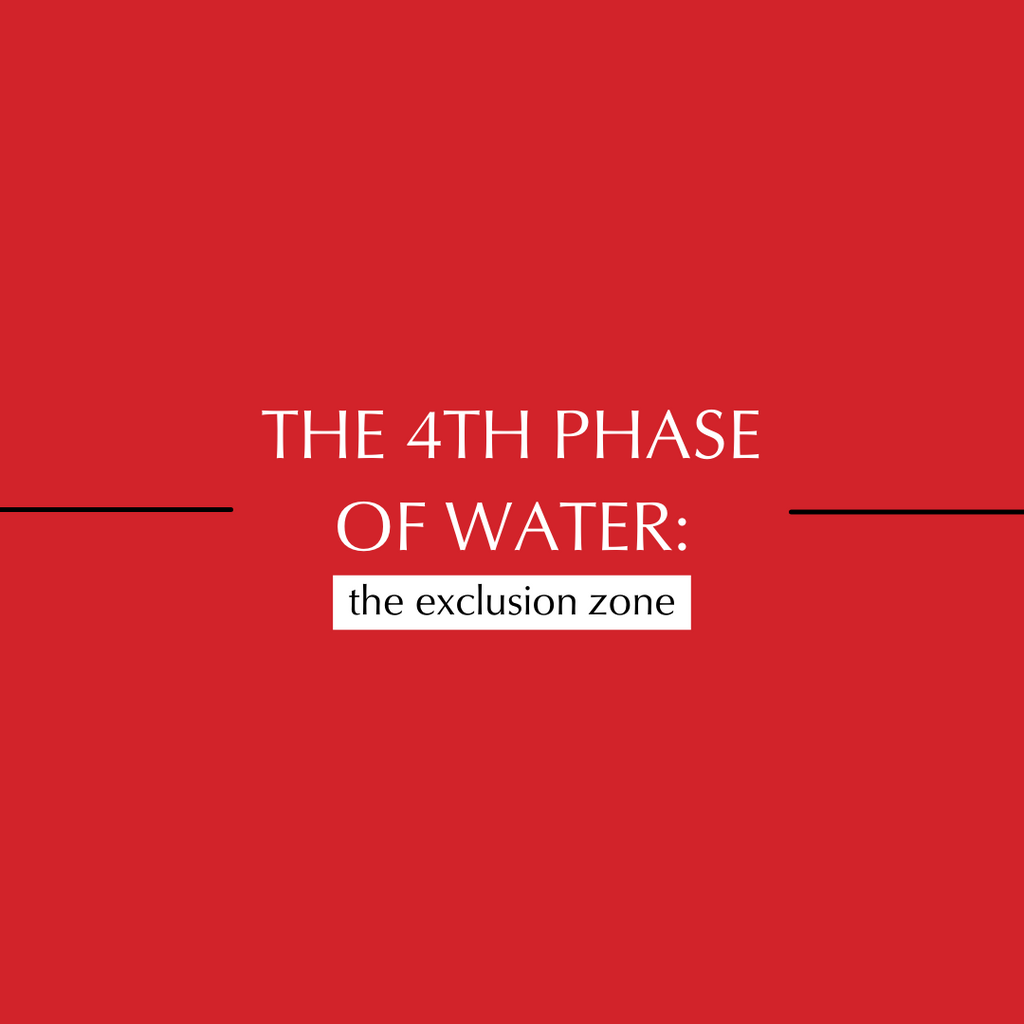 Exclusion zone water