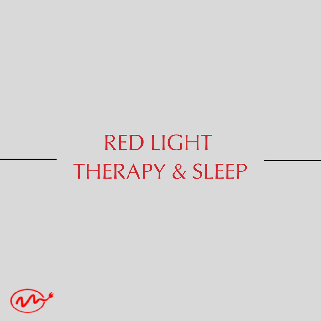 Red light therapy and sleeo
