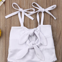 Baby Solid Knot Bathing Suit Available in 2 colors