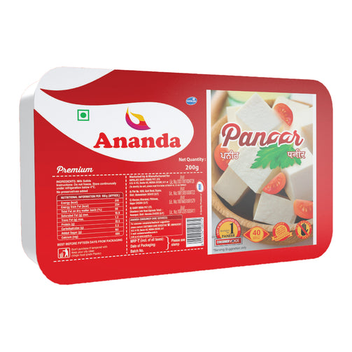 Ananda Premium Fresh Paneer - India's #1 Paneer now in Singapore