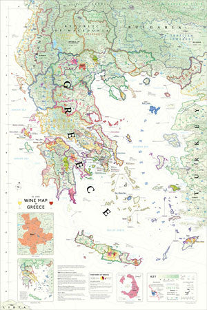 A New Wine Map of Greece