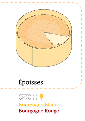 epoisses and wine