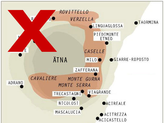 Etna DOC Wine Map Wrong Wikipedia