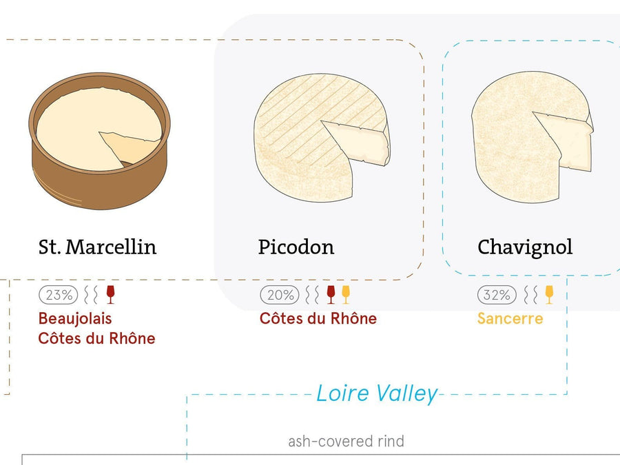 The Cheeses of France Detail | De Long