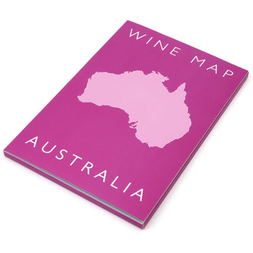 Wine Map of Australia Bookshelf Edition Box