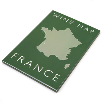 Wine Map of France - Bookshelf Edition Box