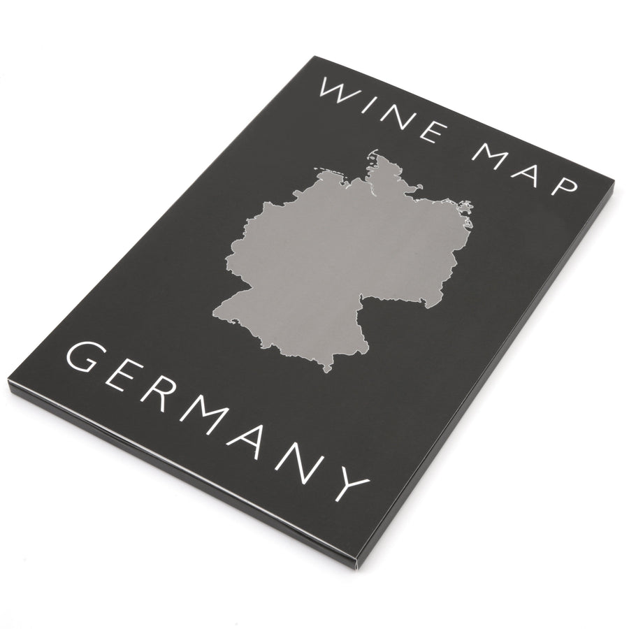 Wine Map of Germany Bookshelf Edition Box