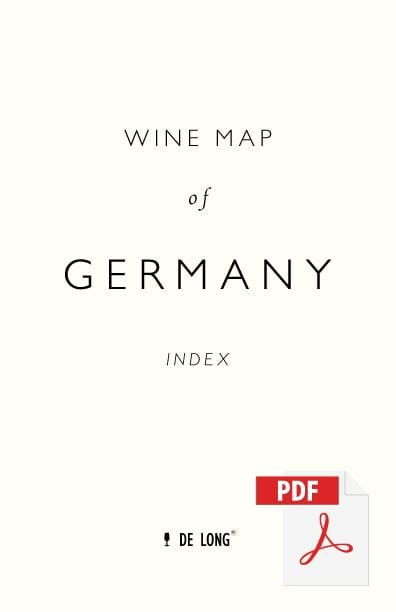 Wine Map of Germany - Digital Edition Index