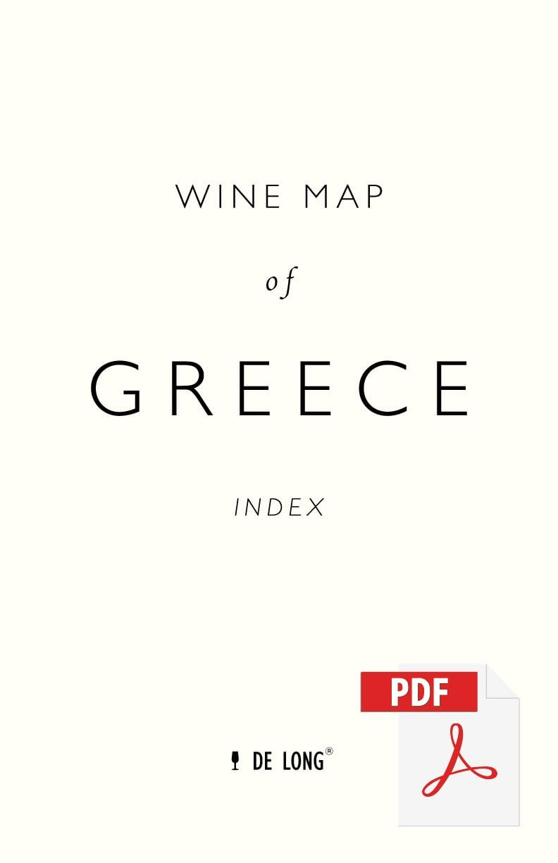 Wine Map of Greece - Digital Edition Index