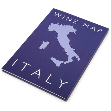 Wine Map of Italy - Bookshelf Edition Box