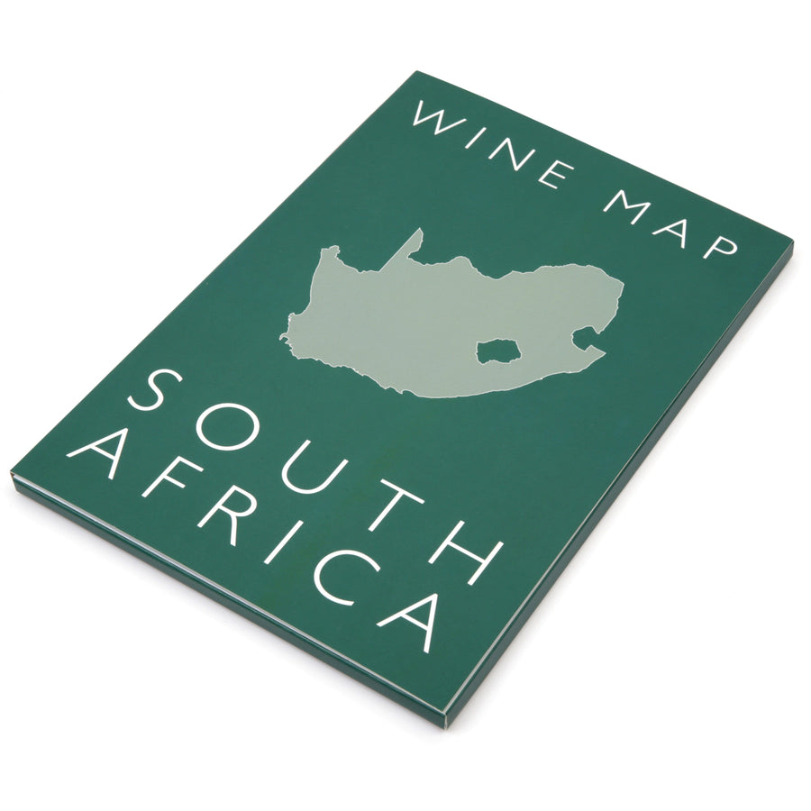 Wine Map of South Africa Bookshelf Edition Box