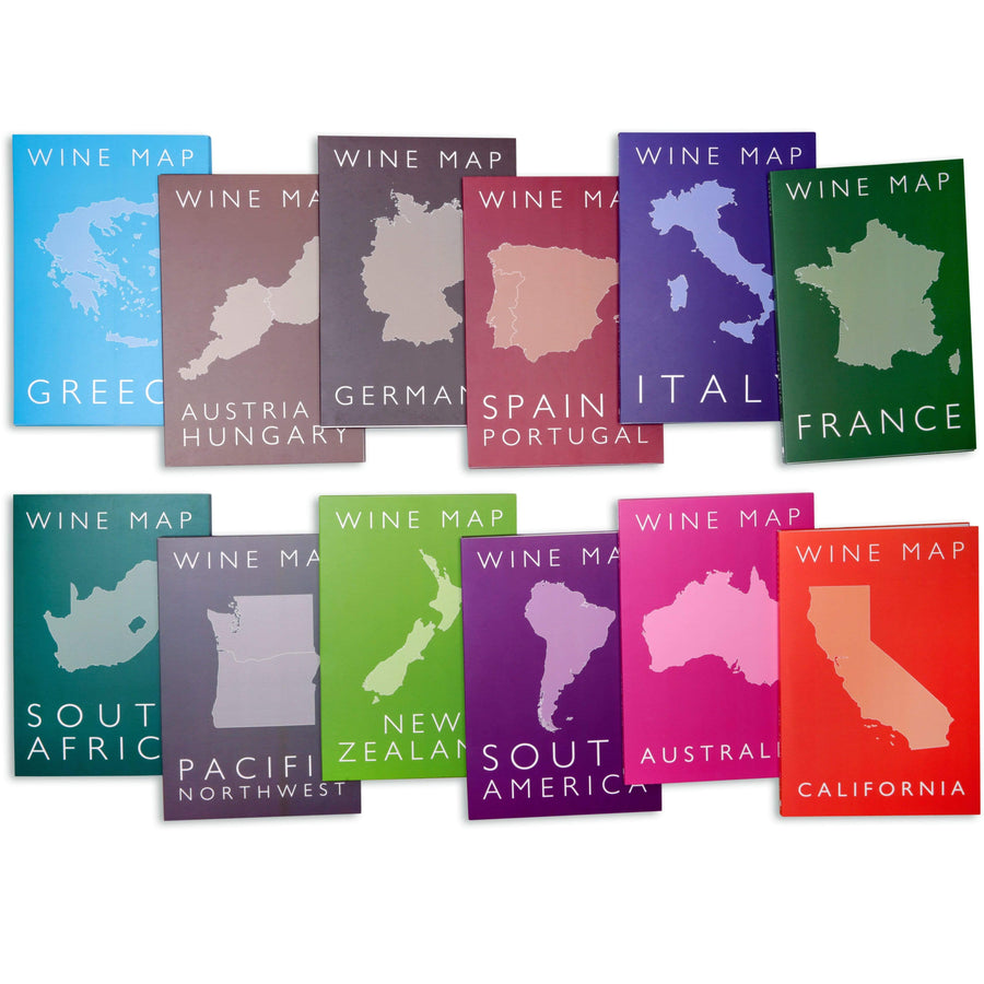 Wine Maps of the World all boxes