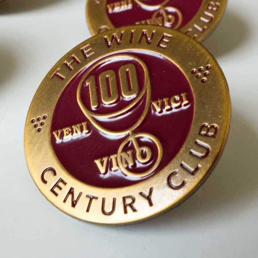 The Official Wine Century Club Lapel Pin - De Long