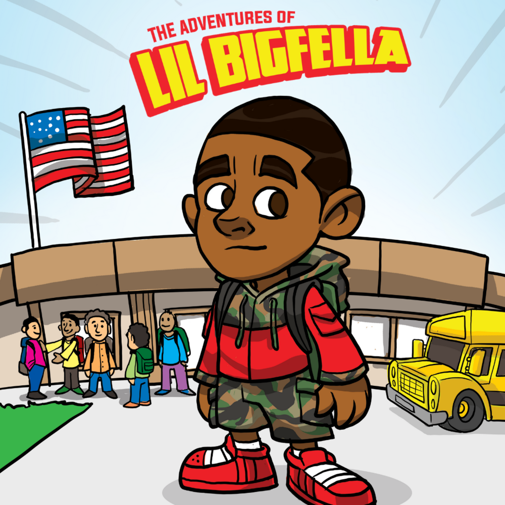 Comic Book: The Adventures of Lil Bigfella #1