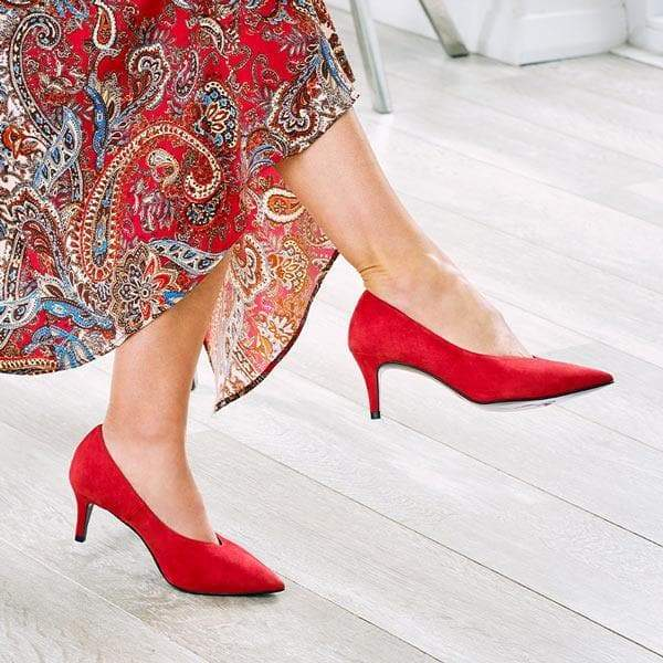 Carmen: Red Suede