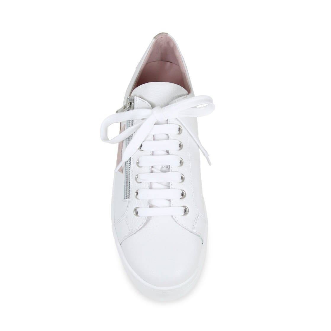 Star: White & Pink Leather
