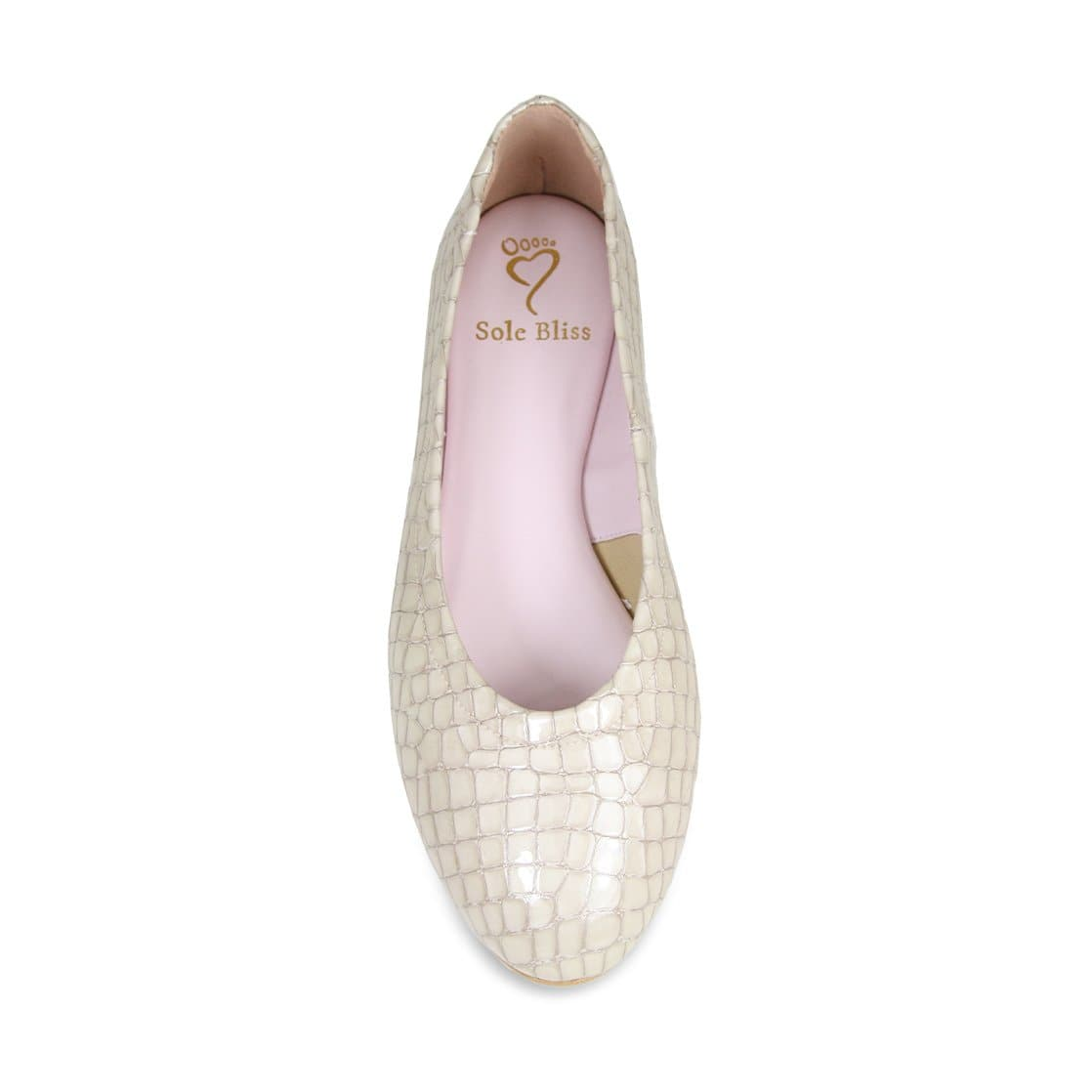 Luna: Pearl Croc Leather
