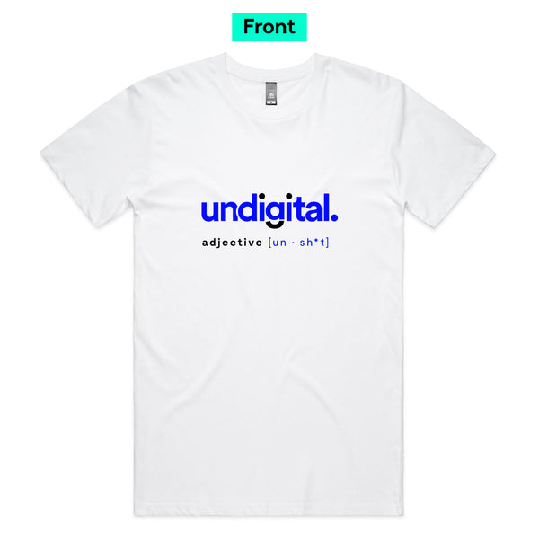 UnDigital® / Unsh*t White - Adult