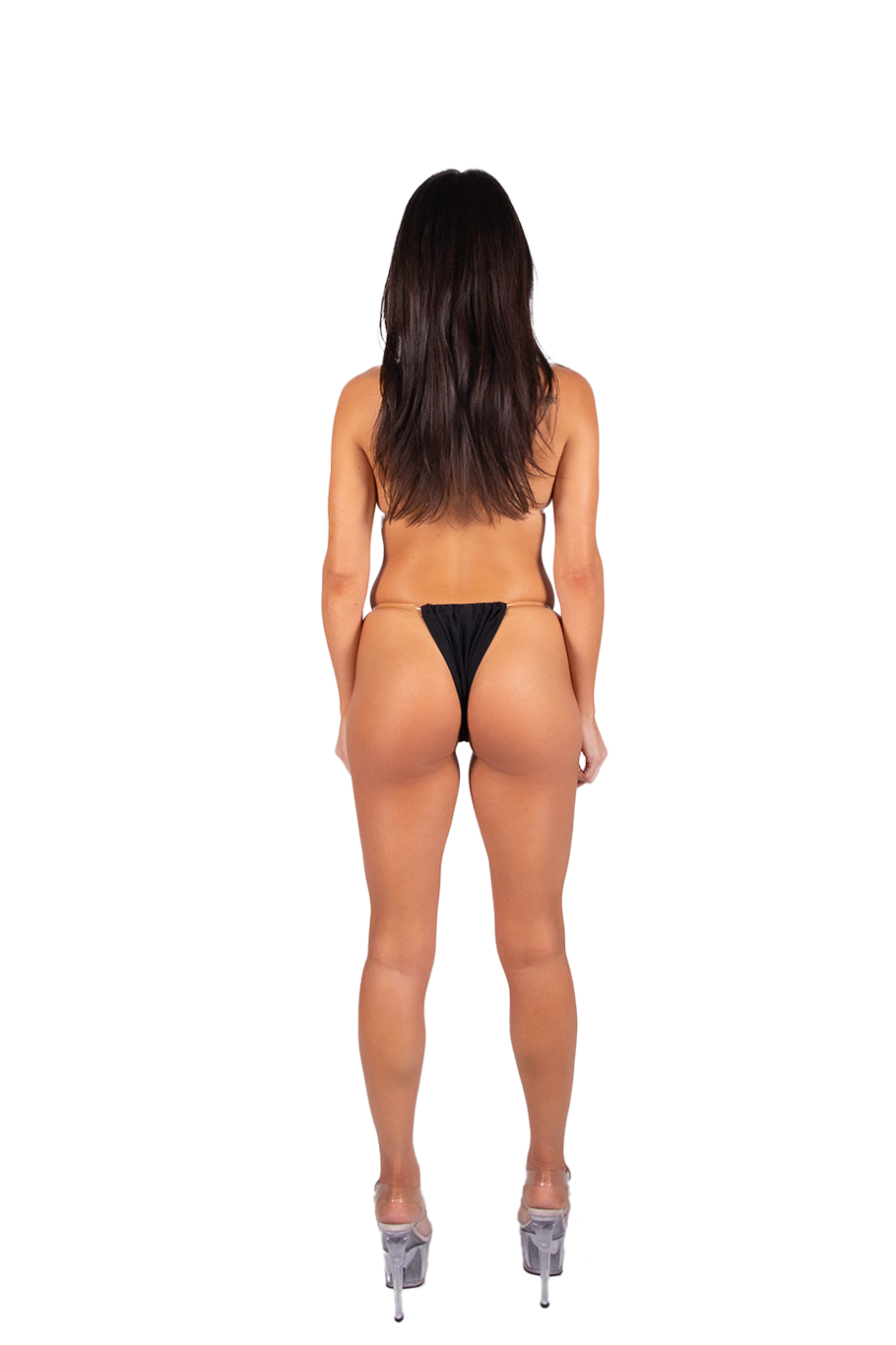 Digital Bikini Bottom - Black/White