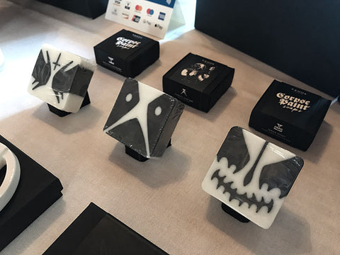 Corpse Paint Soaps at Hellocon event