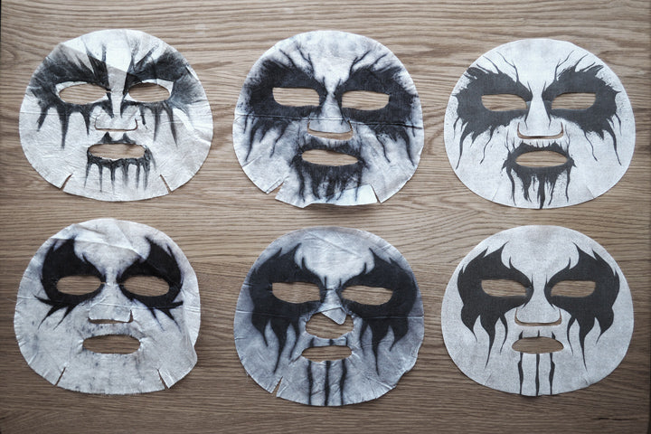 The Final round of corpse paint mask pack development