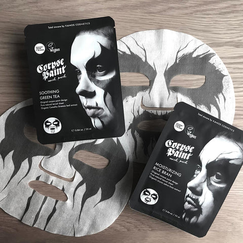 Corpse Paint Mask Packs and mask sheets.