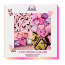 Load image into Gallery viewer, Eyelashes/3DMink Lashes/Custom Boxes Vendors List (𝑰𝒏𝒔𝒕𝒂𝒏𝒕𝒍𝒚 𝑬𝒎𝒂𝒊𝒍𝒆𝒅)