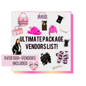 Ultimate Package Vendors List (𝑰𝒏𝒔𝒕𝒂𝒏𝒕𝒍𝒚 𝑬𝒎𝒂𝒊𝒍𝒆𝒅)