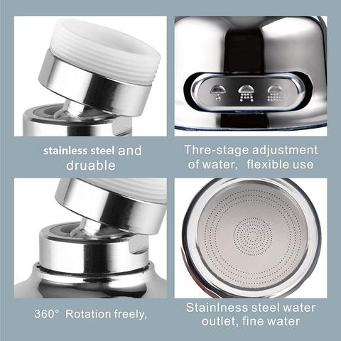 360 Degree Rotatable Sink Spray