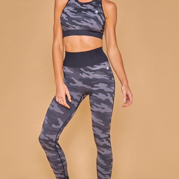 Military Inspired Printed Seamless Legging