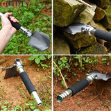 Professional Military Tactical Multifunction Shovel