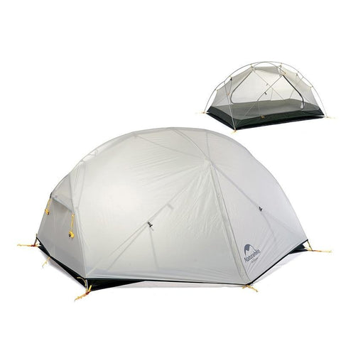 20D Nylon Double Layer Waterproof Tent for 2 People