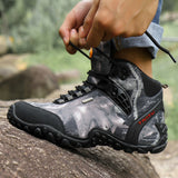 Anti-Skid Waterproof Canvas Boots