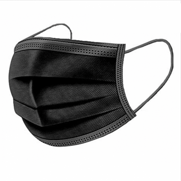 Type 1 Face Mask Black - Pack of 50