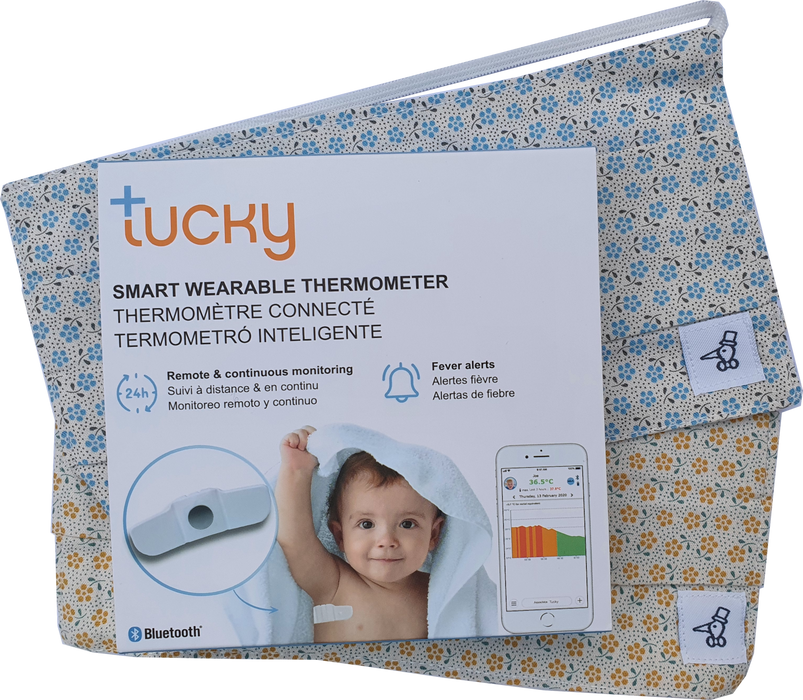 Tucky, Smart Wearable Thermometer