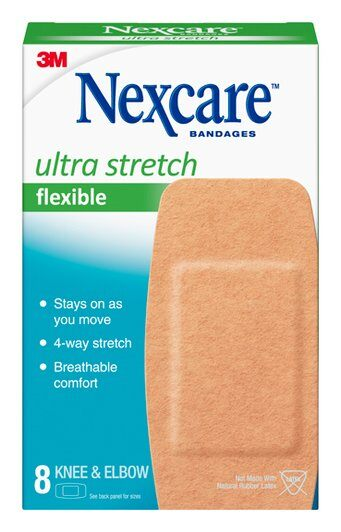 Nexcare Ultra Stretch Bandages 571-08, 2 in x 4 in (50 mm x 101 mm) SKU 051135813867, 7100195691