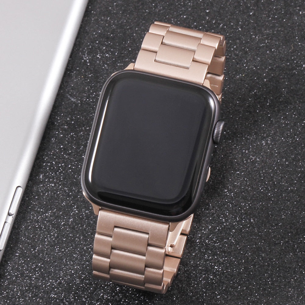 Stainless Steel Watchband Bracelet Strap for Apple Watch