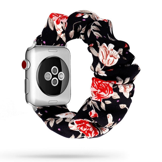 Scrunchie Elastic Watchband for Apple Watch - 42-44mm