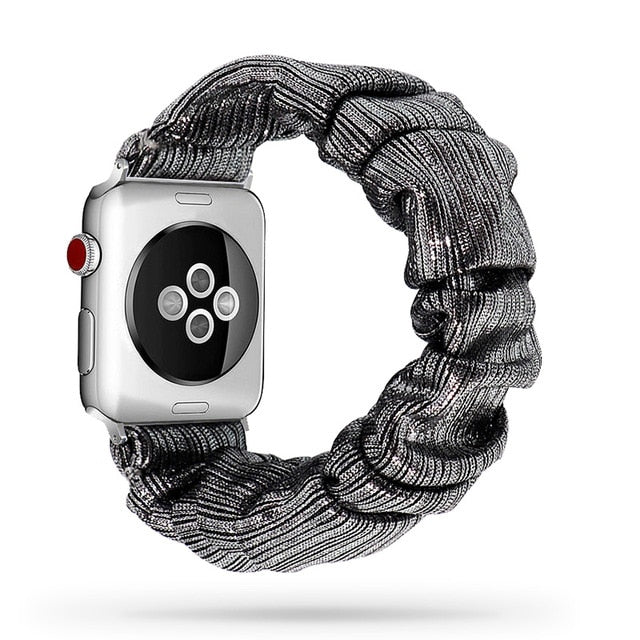 Scrunchie Elastic Watchband for Apple Watch - 38-40mm