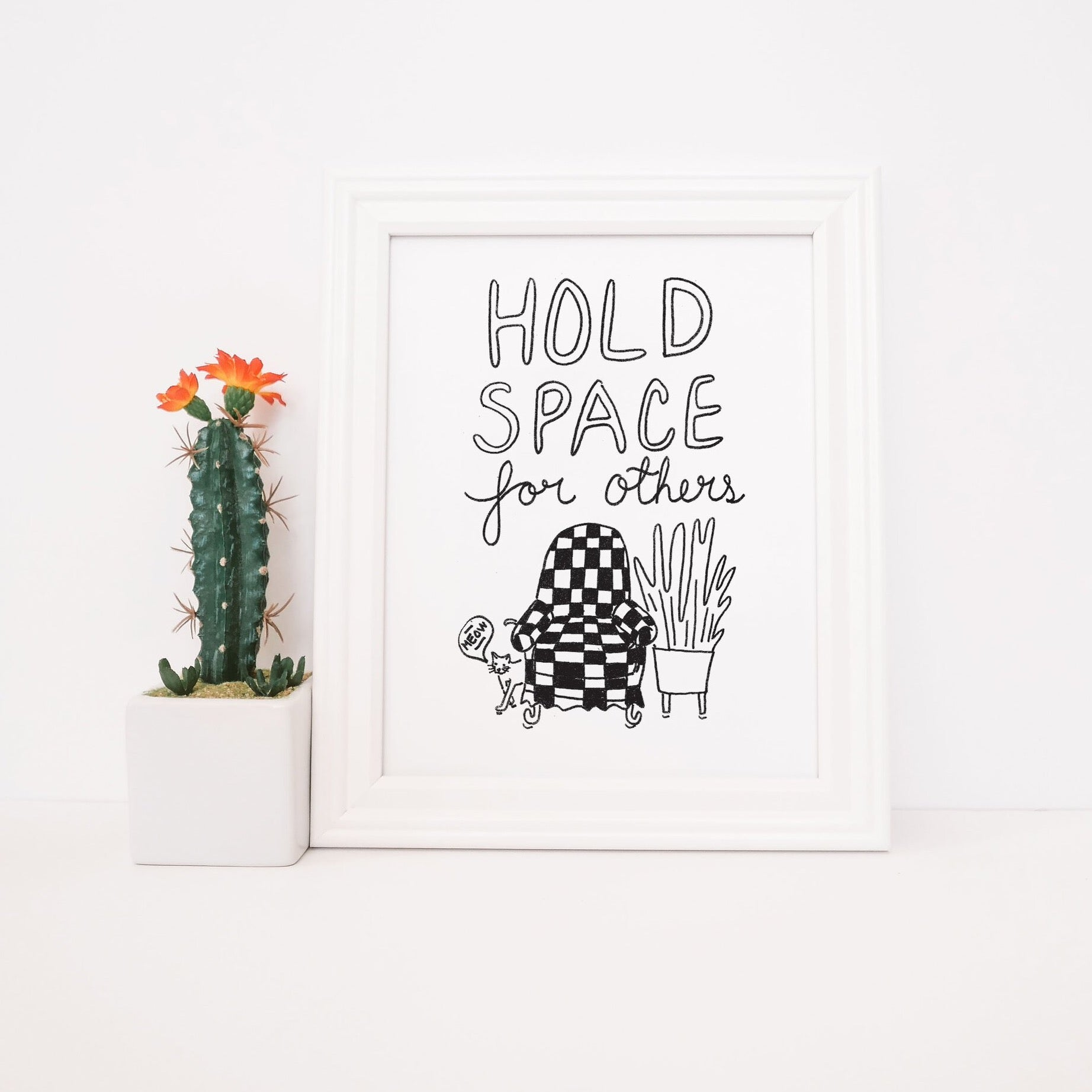 Hold Space  - Print - 8x10""