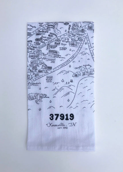37919 Knoxville Tea Towel