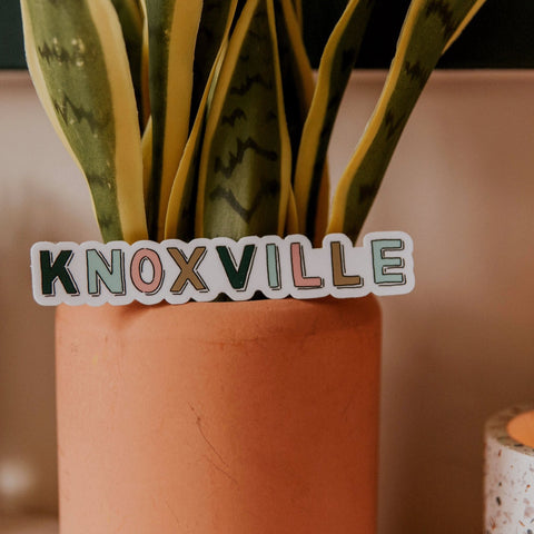Knoxville Word Sticker