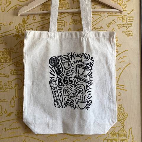 Knoxville Icons Tote Bag