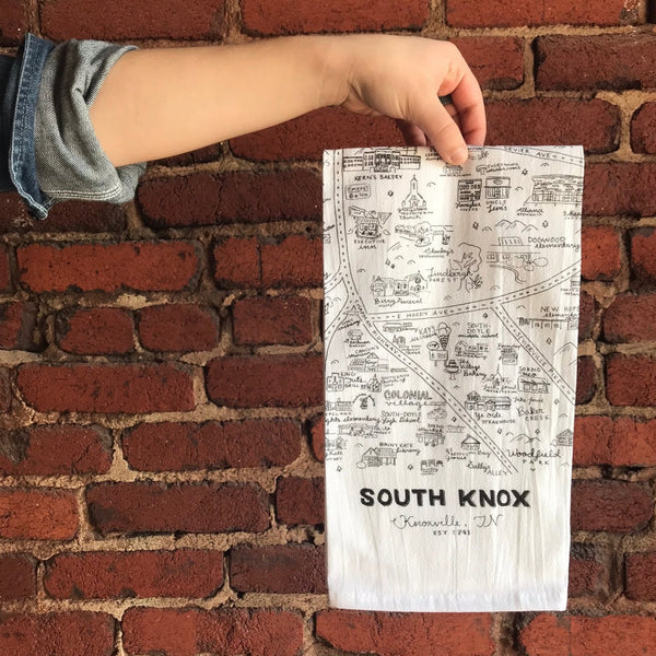 South Knoxville Tea Towel