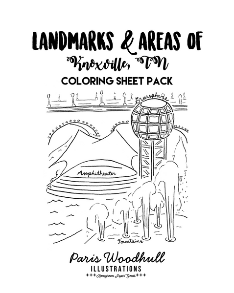 Coloring Sheet Pack