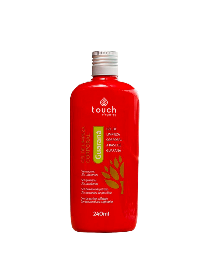 Gel de Limpieza Corporal Guaraná - Guarana Body Cleansing Gel - 240 ml