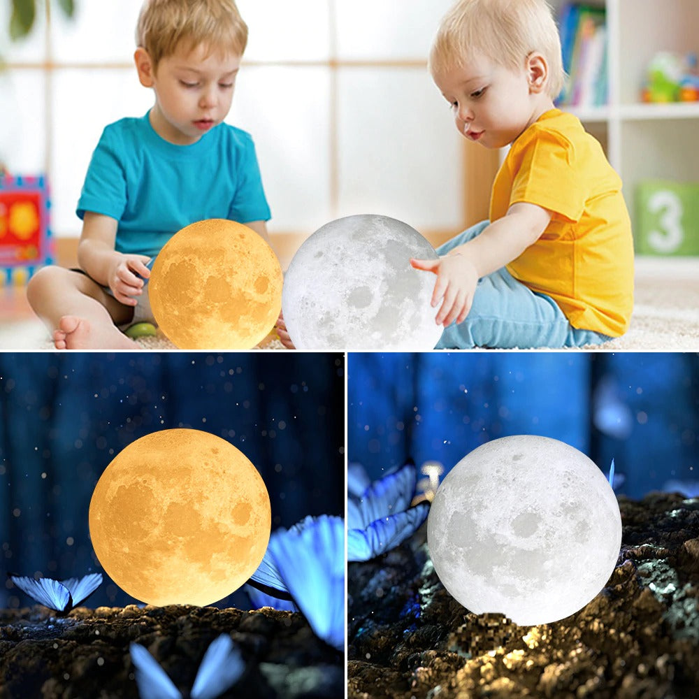 Roll Up And Get Your Hands On A custom Moon Lamp!